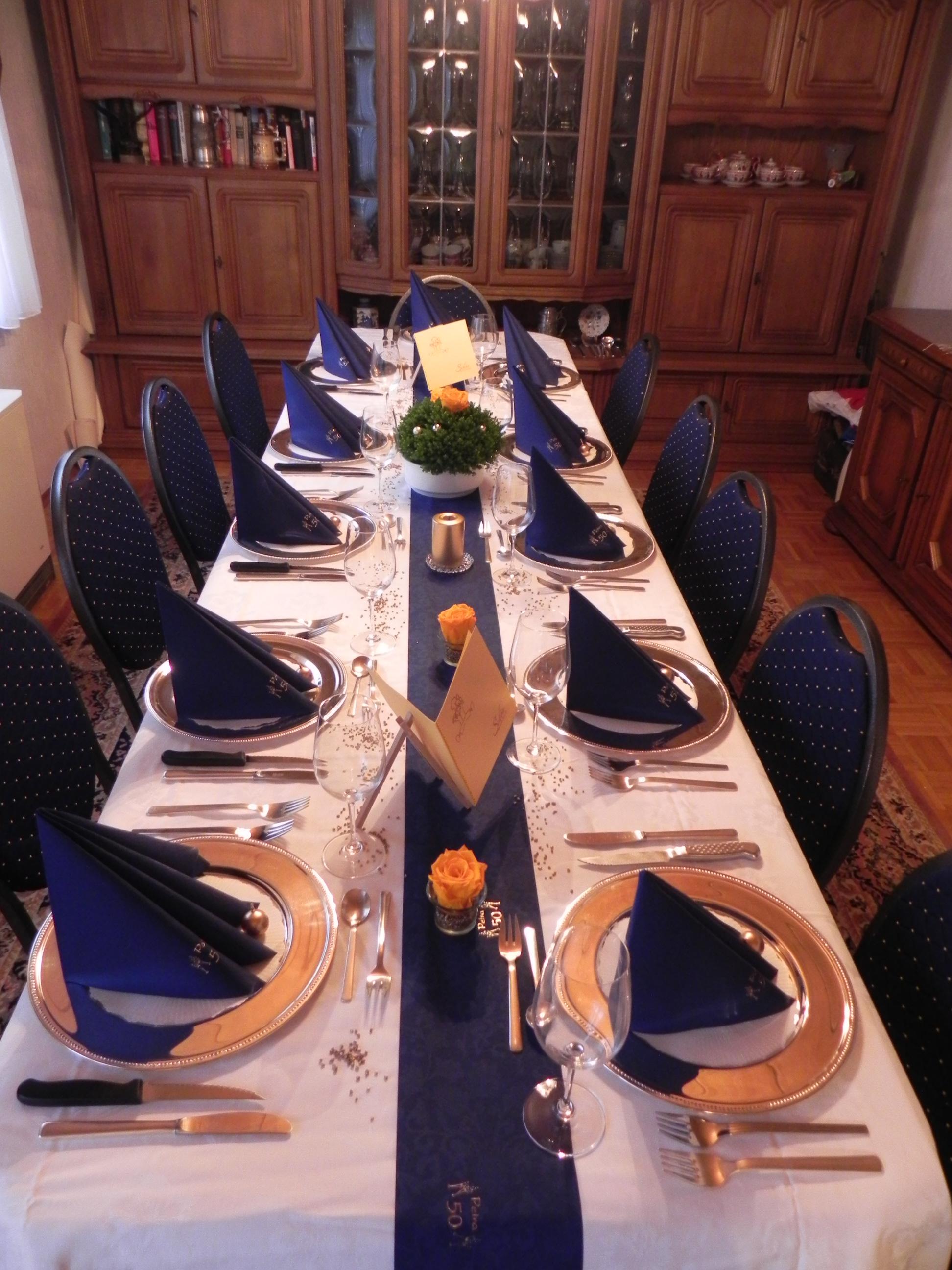 Deko Menukarten Tischdekoration Kerzen Dscn0353