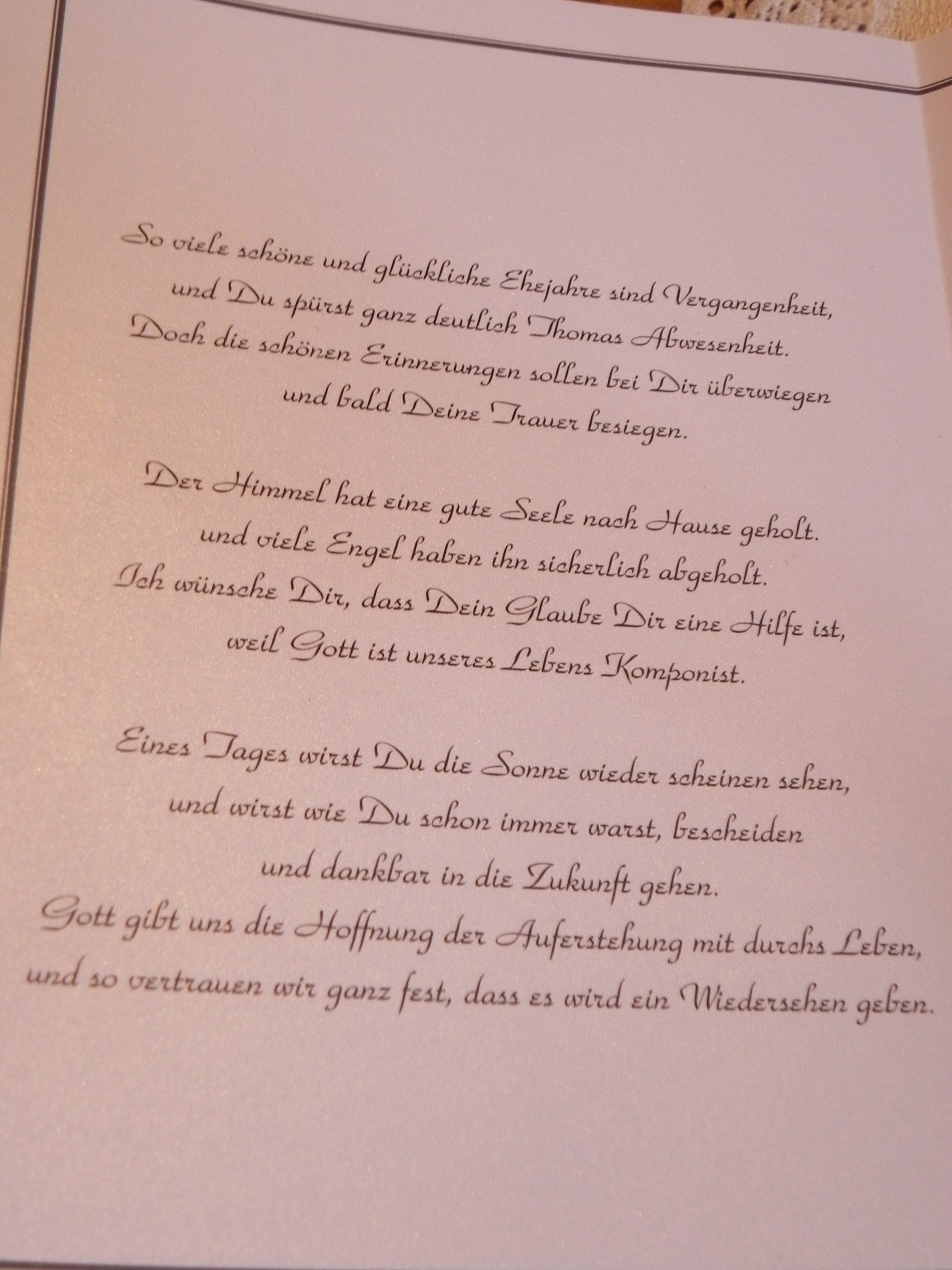 Deko Menükarten Tischdekoration Kerzen Dscn2483